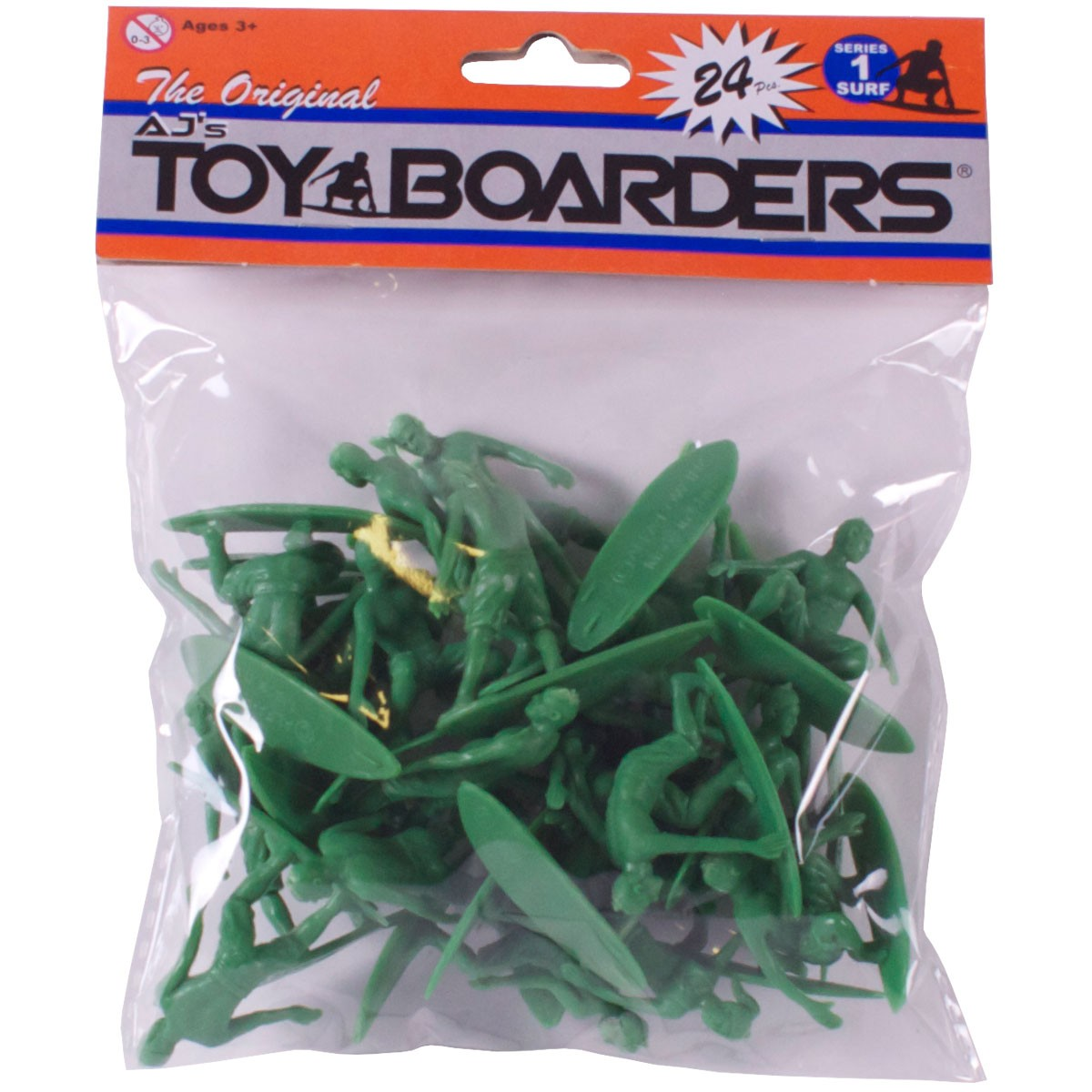 AJ's Toy Boarders 24-Pack - Surf - Series 1