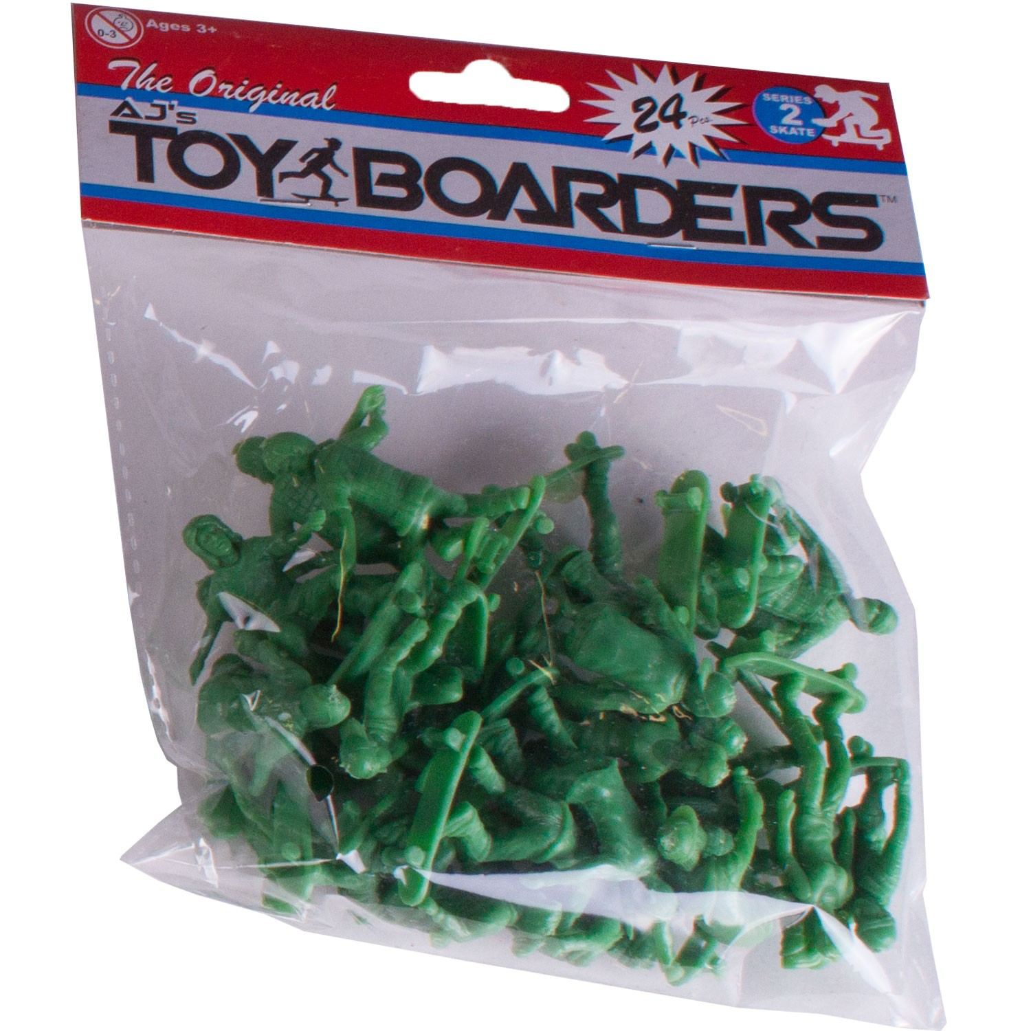 AJ's Toy Boarders 24-Pack - Skate - Series 2