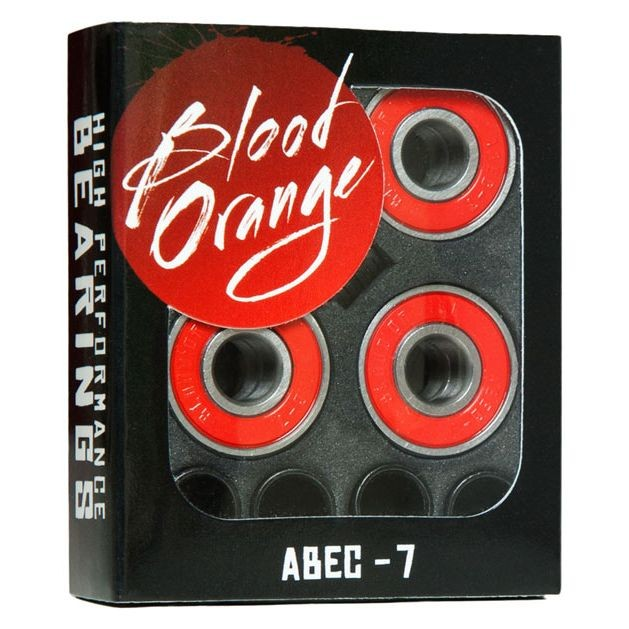 Blood Orange Abec 7 Bearings