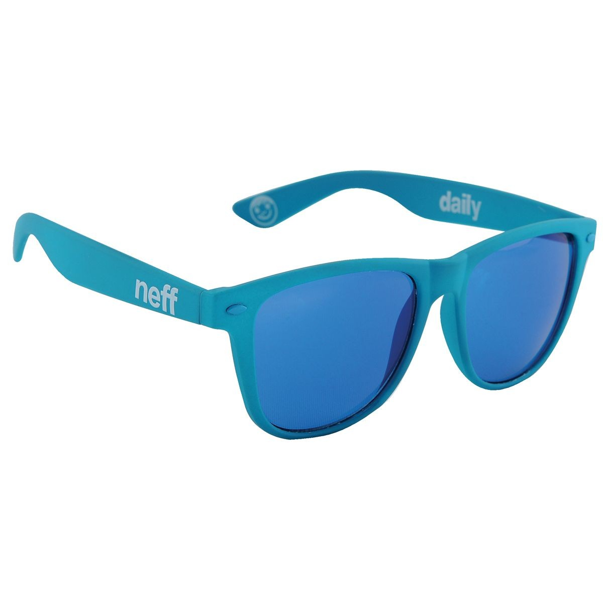 Neff Daily Sunglasses - Blue Soft Touch