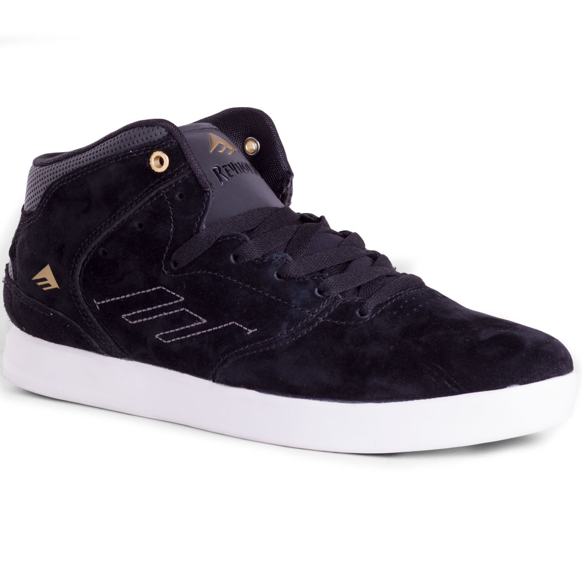 Emerica The Reynolds Shoes - Black / White 13.0