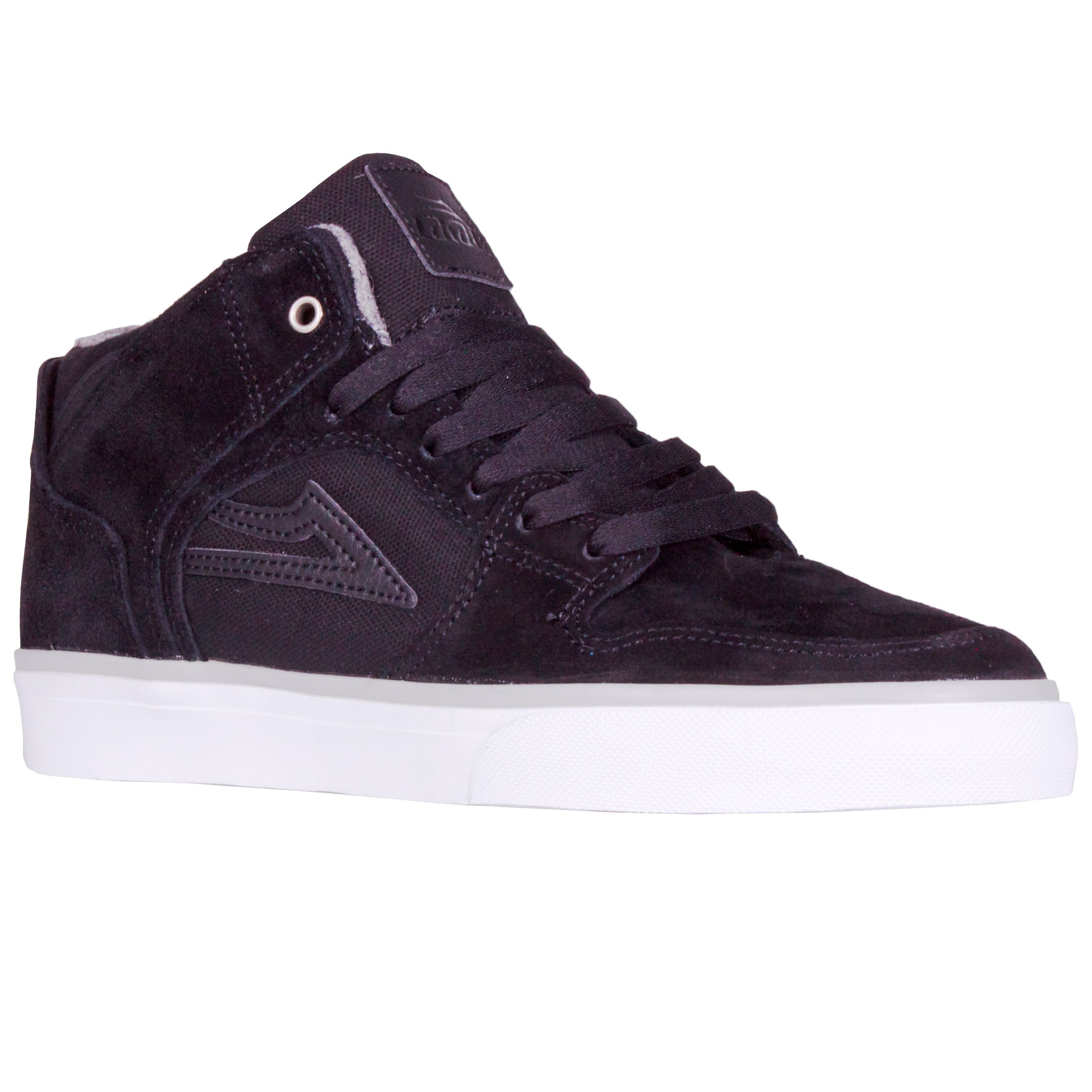 Lakai Telford Shoes - Black Suede 12.0