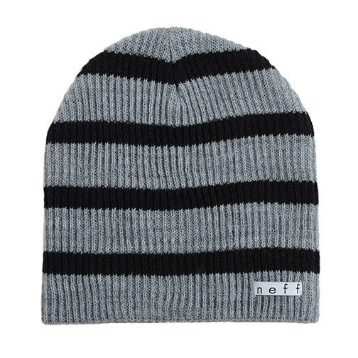 Neff Daily Stripe Beanie - Grey / Black