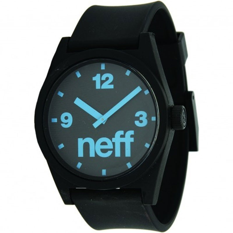 Neff Daily Watch - Black / Cyan