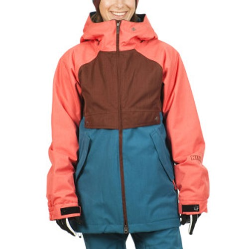 Nikita Esja Women's Jacket - Andorra / Cayenne / Ink Blue
