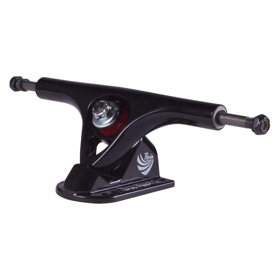 Paris 180mm Longboard Trucks - Black V2