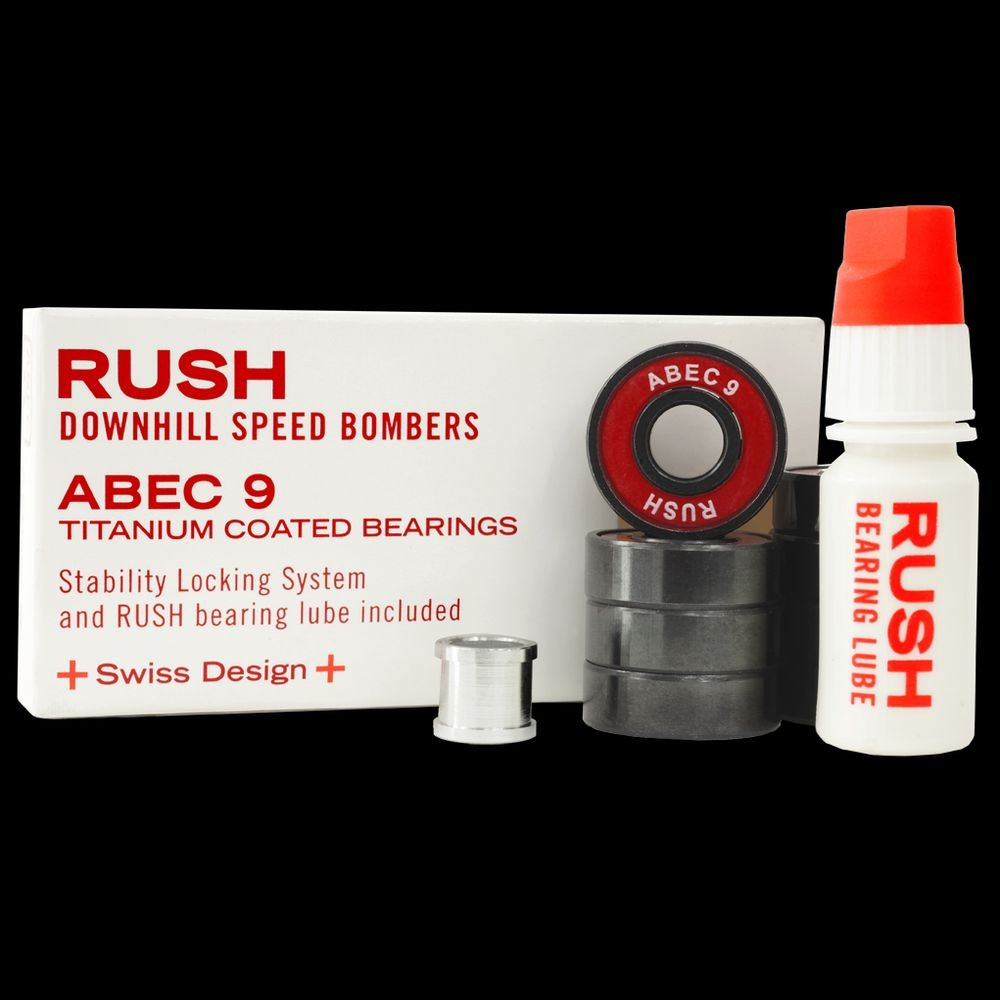 Rush Downhill Speed Bombers - Abec 9 Long Distance Bearings
