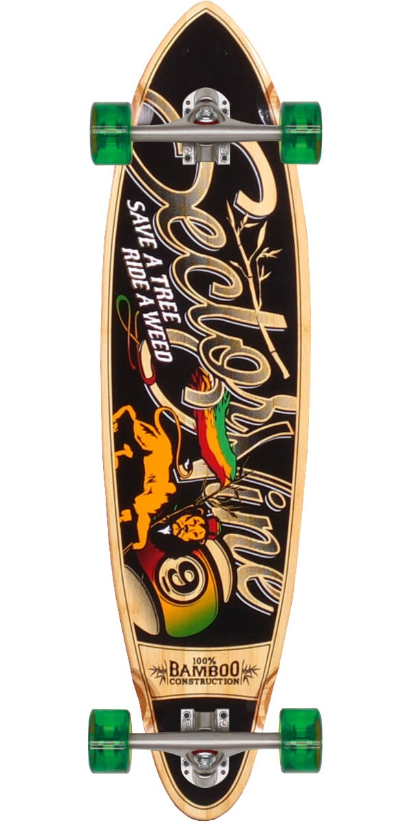 Sector 9 Hot Steppa Longboard Skateboard Complete
