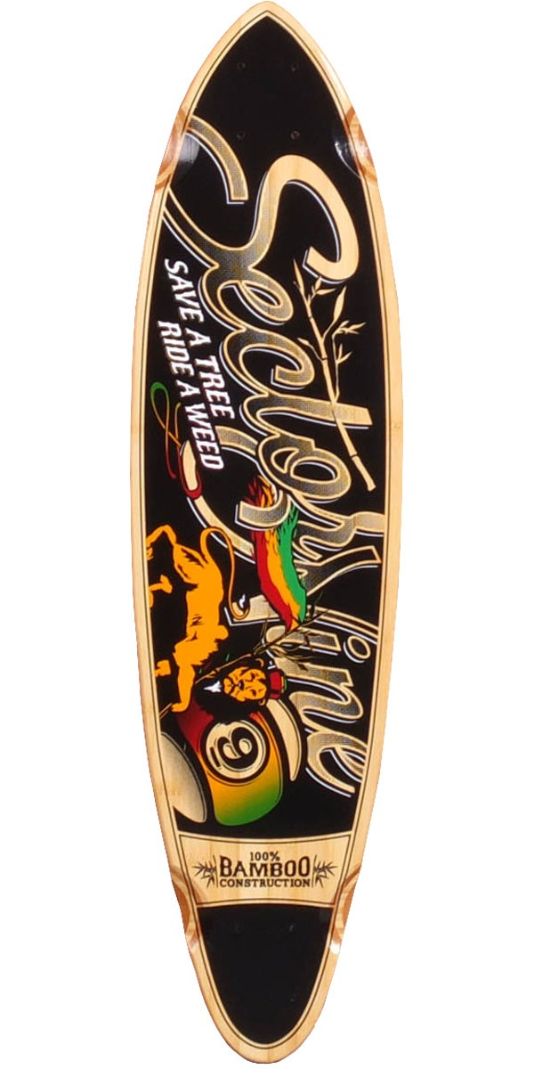 Sector 9 Hot Steppa Longboard Skateboard Deck