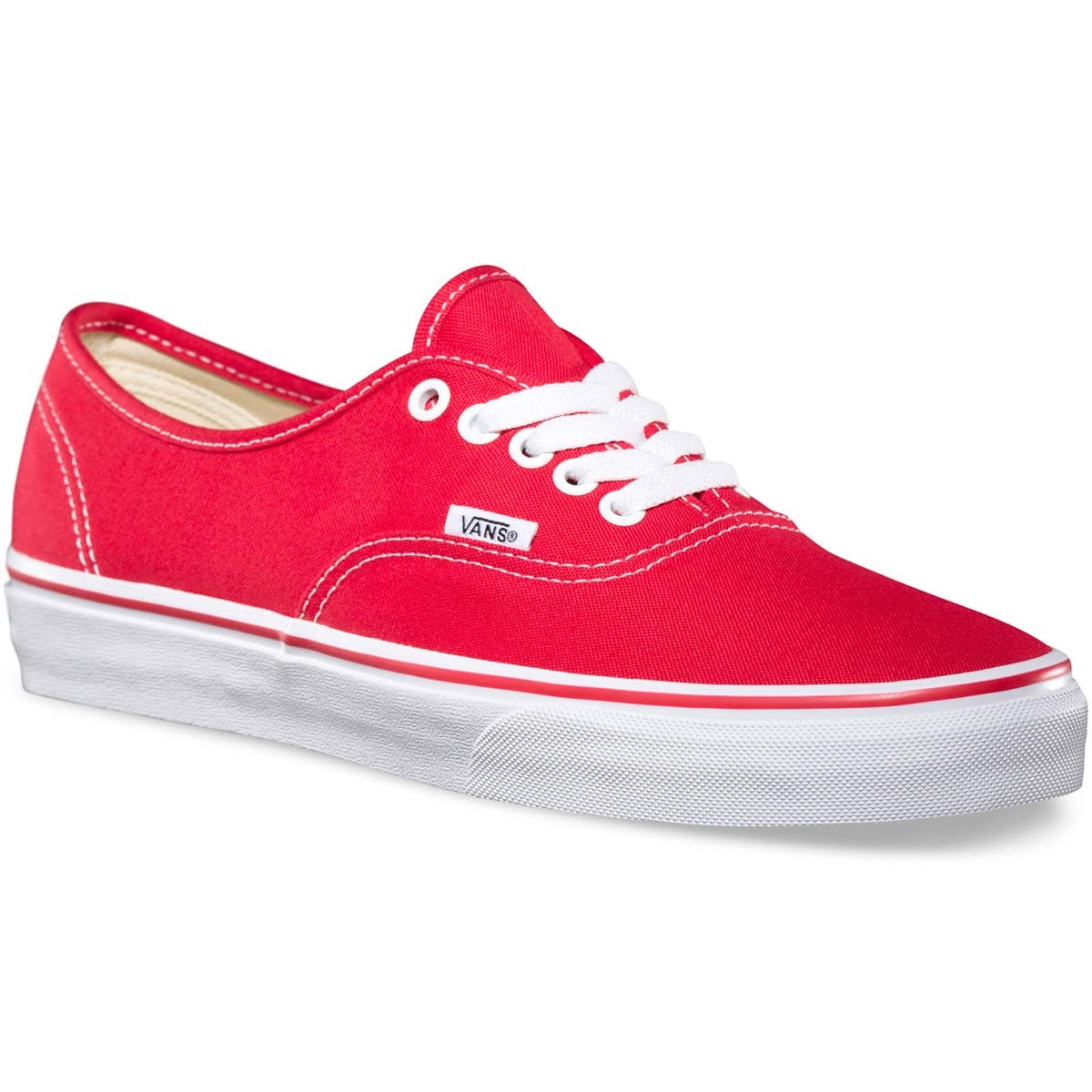Vans Original Authentic Shoes - Red 13.0