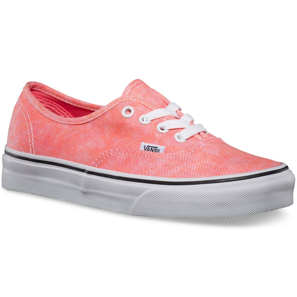 Vans Sparkle Authentic Womens Shoes - Coral 7.5