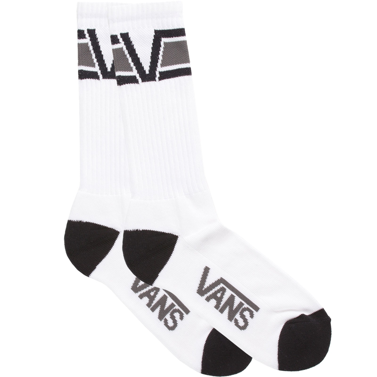 Vans Big V Socks - 1 Pack - Black / Gravel