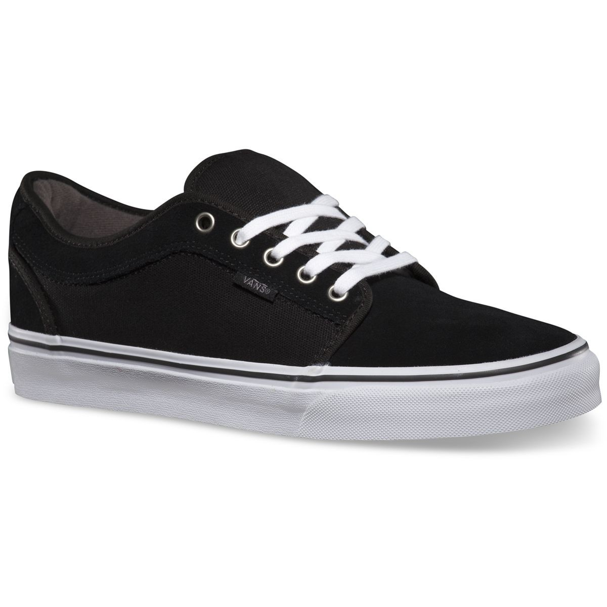 Vans Chukka Low Shoes - Black / Pewter / White