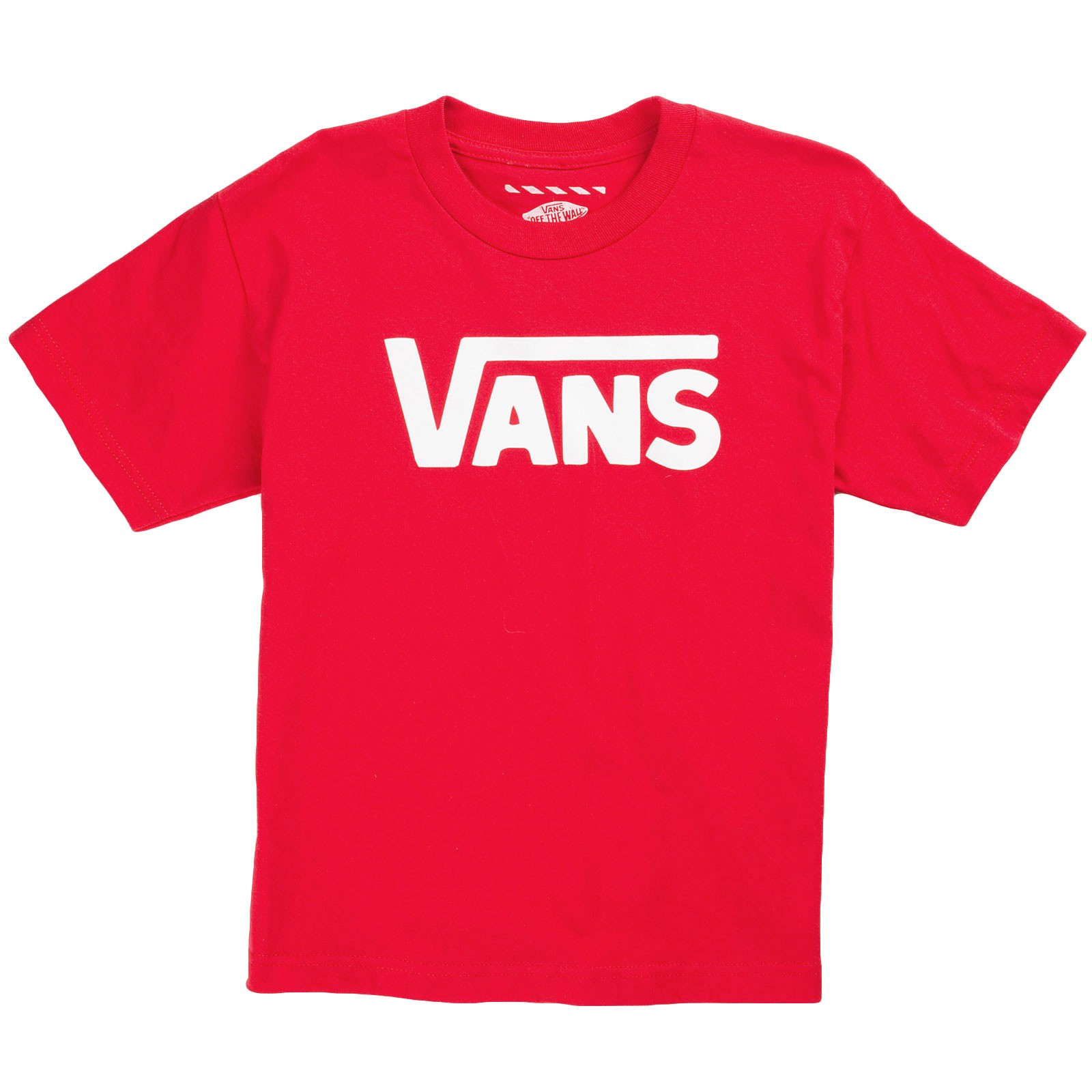 Vans Classic Youth T-Shirt - Red / White