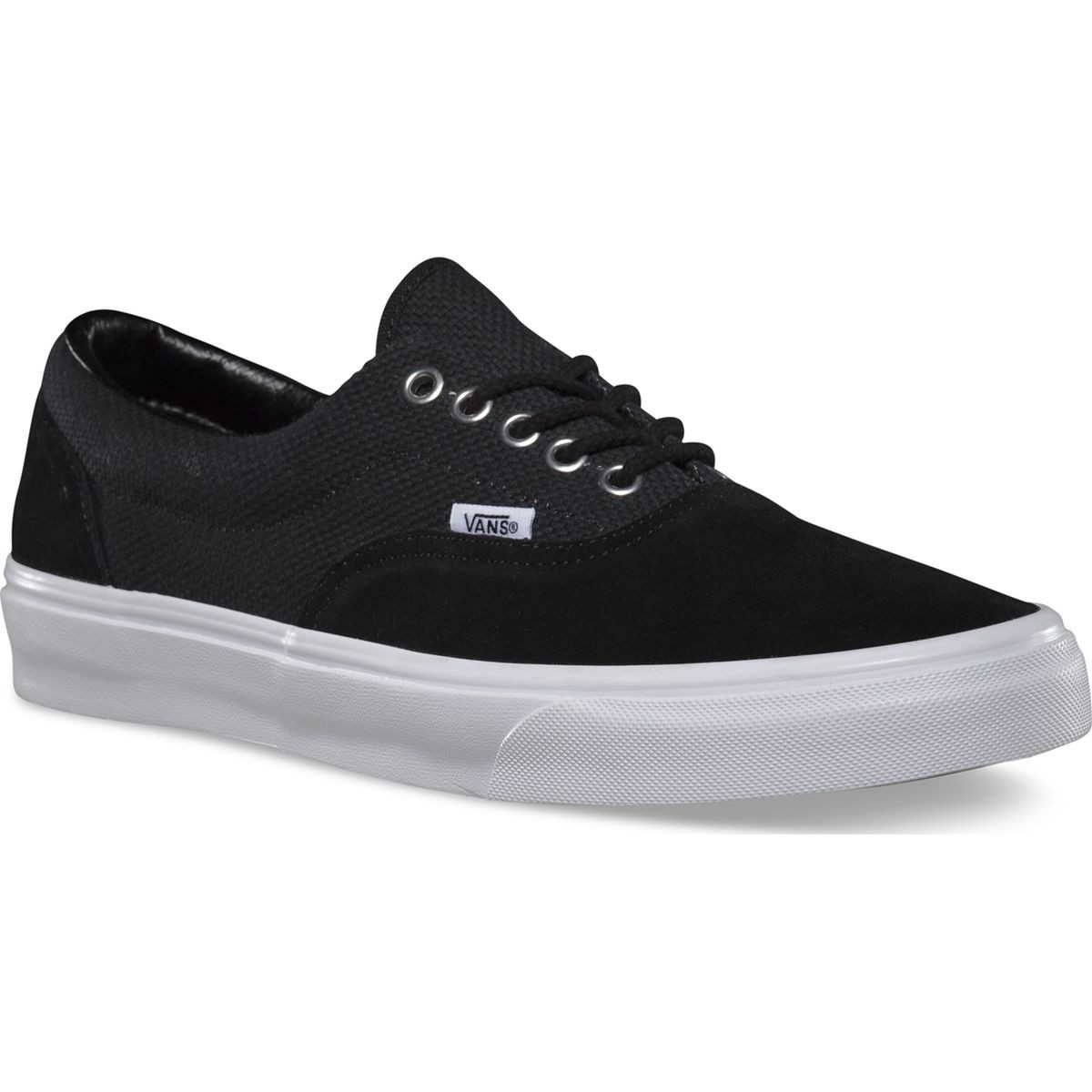 Vans Era Hemp Shoes - Black / True White