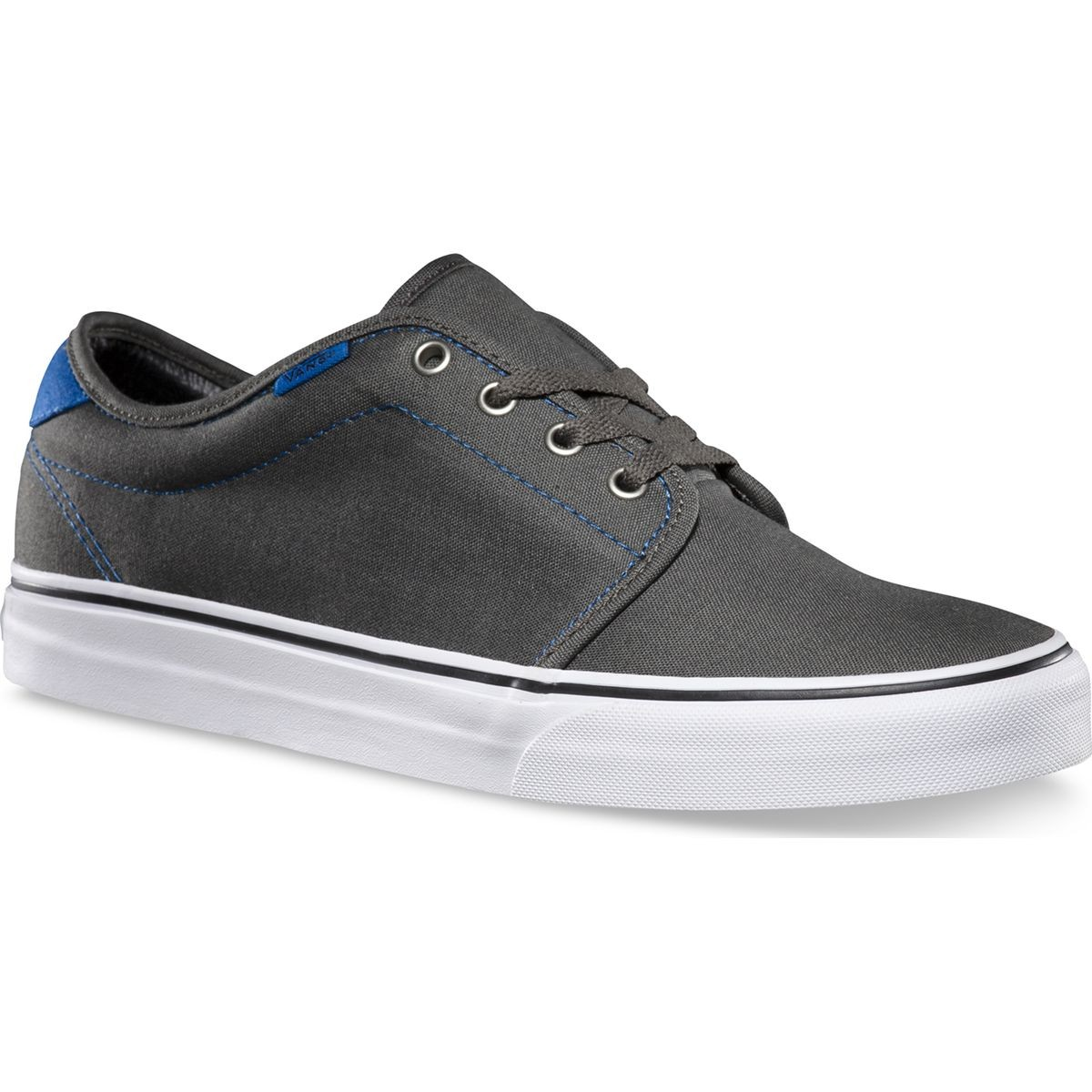 Vans 159 Vulcanized Shoes - Charcoal / Skydiver