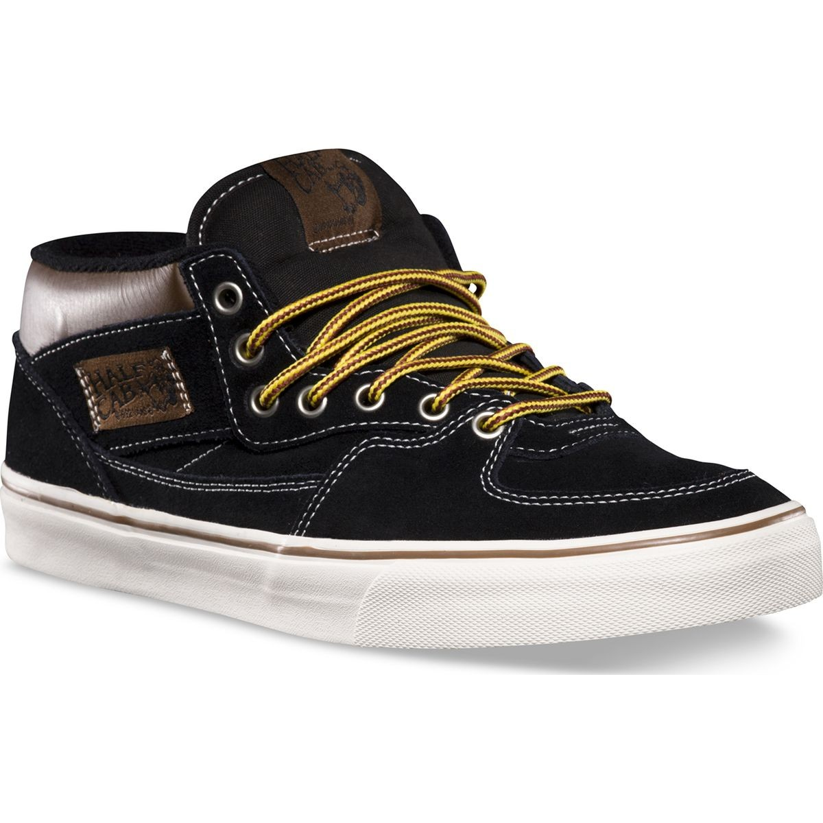 Vans Hiker Half Cab Shoes - Suede / Black
