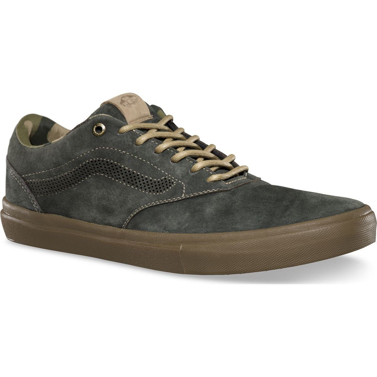 Vans Outdoor Euclid Shoes - Dark Military