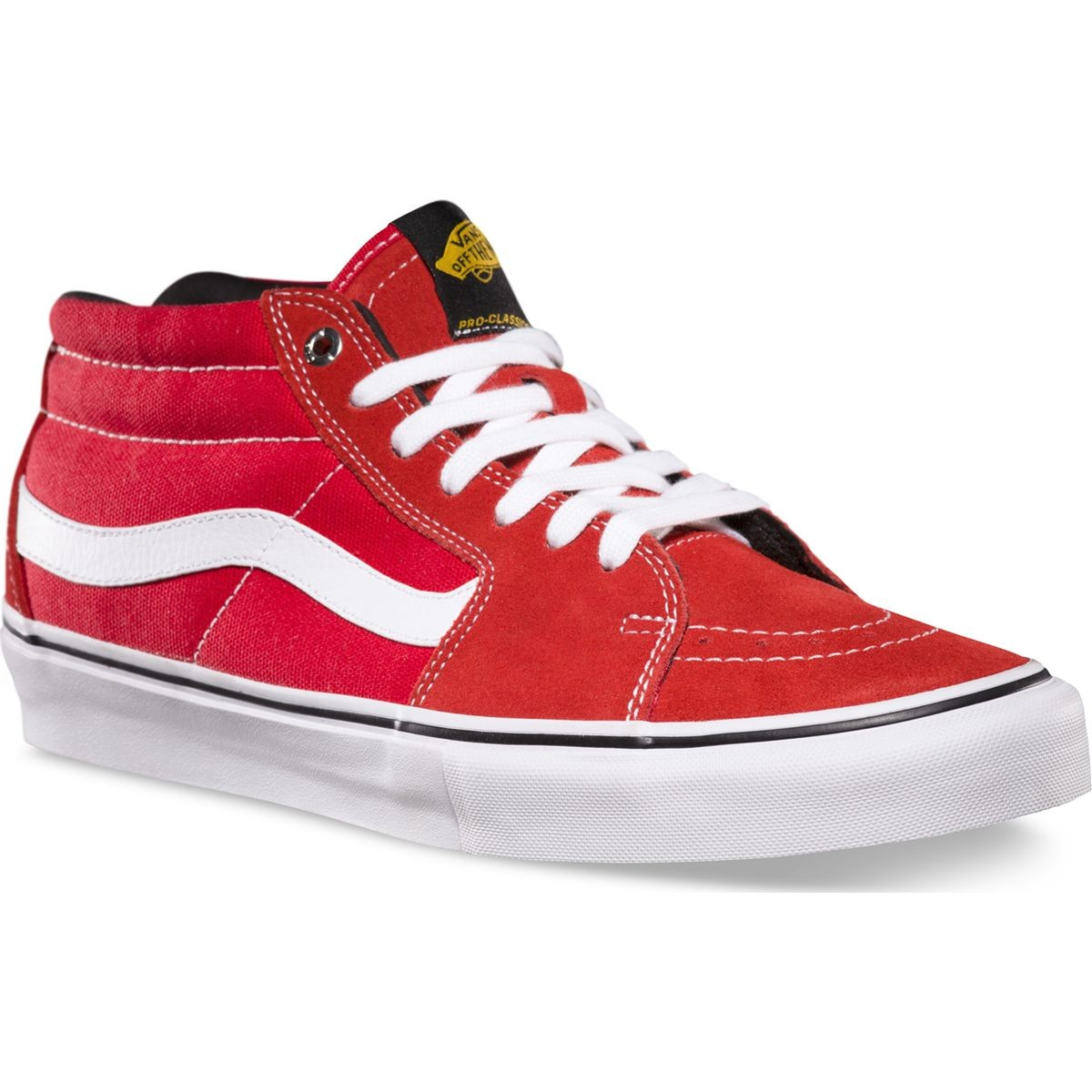 Vans Black Label Sk8-Mid Pro Shoes - Red