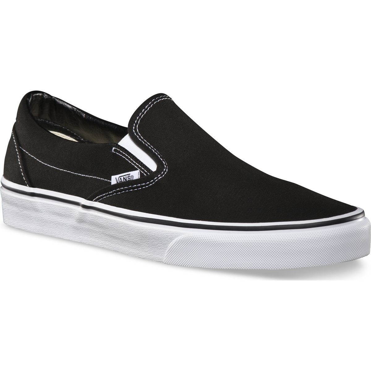 Vans Classic Slip On Shoes - Black 13.0